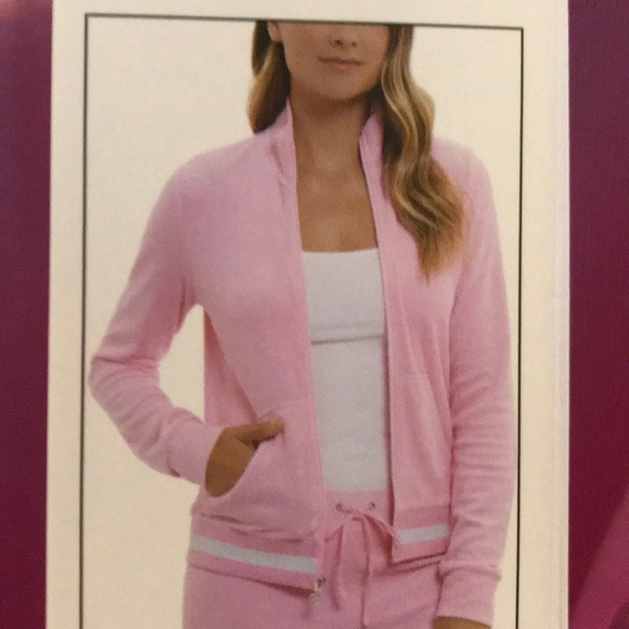 NEW Juicy Couture Baby Pink Fairfax Jacket NWT 34db0f4a4a